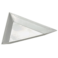 Triangle Scooping Tray