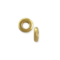 Seamless Spacer Ring 4x1mm Gold Plated (10-Pcs)