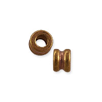 Spool Bead 2.5x3mm Copper (10-Pcs)