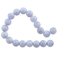 Blue Lace Agate Round Beads 8mm (16