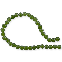 Canadian Jade Round Beads 4mm (15