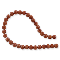 Goldstone Round Beads 4mm (15