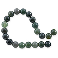 Moss Agate Round Beads 8mm (15