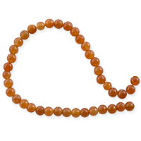 Red Aventurine Round Bead 4mm (15