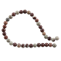 Red Chohua Jasper Round Beads 4mm (15