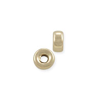 Rondelle Spacer Bead 3x1.5mm Gold Filled (1-Pc)