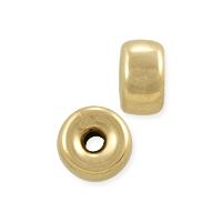 Rondelle Spacer Bead 6x3.5mm Gold Filled (1-Pc)