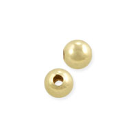 Round Beads 3mm Gold Filled (4-Pcs)