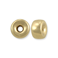 Gold Filled Rondelle Spacer Bead 6x3.5mm (1-Pc)