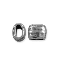TierraCast Barrel Bead 7x5.5mm Antiqued Pewter (1-Pc)