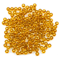 Czech Seed Beads - 6/0 Topaz (10 Grams)