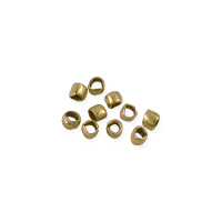 Heishi Beads 1.2mm Brass (10-Pcs)