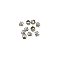 Heishi Beads 1.2mm Nickel Silver (10-Pcs)