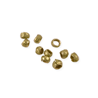 Heishi Beads 2mm Brass (10-Pcs)