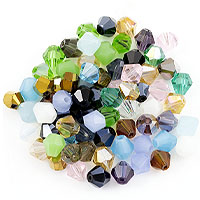 Crystal Bicone Bead Assortment 8mm (Approx. 70 Pcs)
