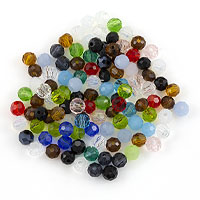 Crystal Round Bead Assortment 4mm (Approx. 105 Pcs)