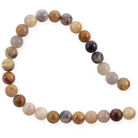 Crazy Lace Agate Beads 4mm (15