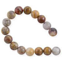 Crazy Lace Agate Beads 8mm (15