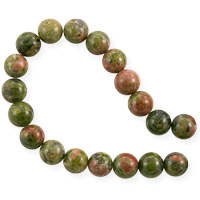 Unakite Round Beads 6mm (16