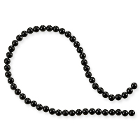 Black Agate Round Beads 4mm (16