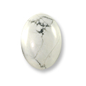 Howlite Oval Cabochon 14x10mm