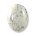 Howlite Oval Cabochon 18x13mm