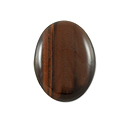 Red Tiger Eye Oval Cabochon 14x10mm