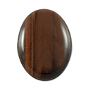 Red Tiger Eye Oval Cabochon 18x13mm