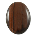 Red Tiger Eye Oval Cabochon 20x15mm