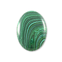 Malachite Oval Cabochon 14x10mm Synthetic