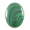 Malachite Oval Cabochon 18x13mm Synthetic