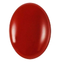 Red Agate Cabochon 20x15mm