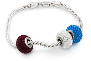 We Carry A Variety Of Large Hole Bracelets In Gold And Silver Colors To Create Your Own Personalized Add Any Our Swarovski Crystal Becharmed