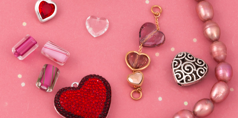 Valentine's Day Jewelry Making Supplies