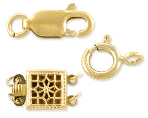 Gold Filled Clasps