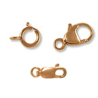 Rose Gold Filled Clasps
