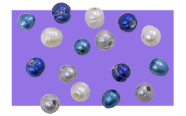 New Large Hole Pearls