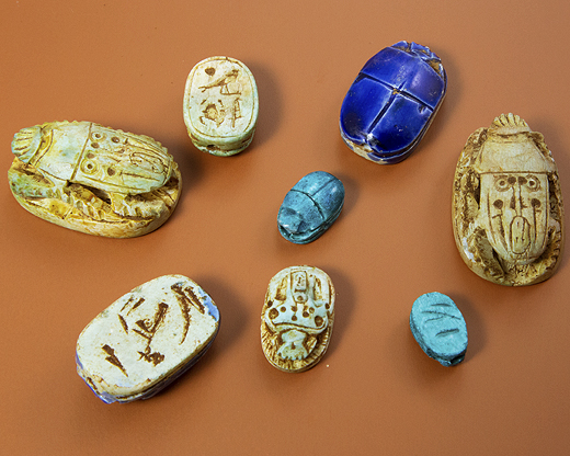 Egyptian Beads and Pendants