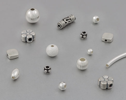 Sterling Silver Beads
