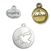 Words and Inspirational Charms