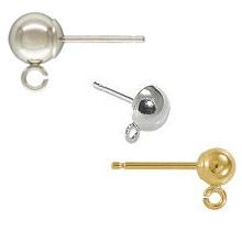 Ball Post Earrings