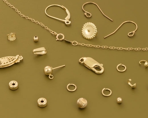 14 Karat Gold Findings