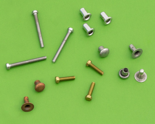 Screws, Washers, Nuts and Rivets