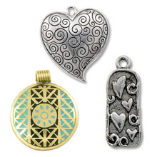 Base Metal Pendants