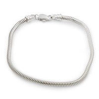 Sterling Silver Add-a-Bead Bracelets