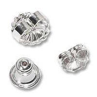 Sterling Silver Ear Backs