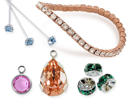 Shop Swarovski Crystal Findings & Components