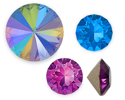 Swarovski Crystal Point Back Stones