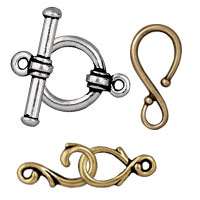 TierraCast Pewter Clasps