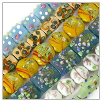 Bulk Packs of Lampwork Glass Beads